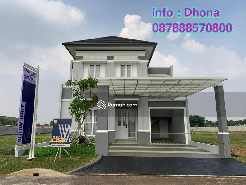 Rumah Water Terrace Grand Wisata, DP ringan bisa KPR! #95556068