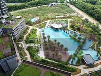 Disewa - Gold Coast PIK - 3+1Beds + PARKING SPACE - View Pool & Golf Island