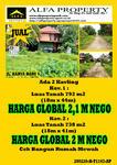 Tanah 738m2 Karya Baru 5 Pontianak, Kalimantan Barat