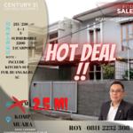 Dijual cepat, harga BU/miring, rumah di Komp. Perumahan Muara, Bandung.