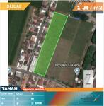 Tanah Strategis Lokasi Probolinggo Kota Dekat Terminal. Harga Nego.