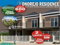 Dijual - Rumah Baru Surabaya Timur 2 lantai SHM 10 menit dari Galaxy Mall & ITS, 5 menit dari MERR