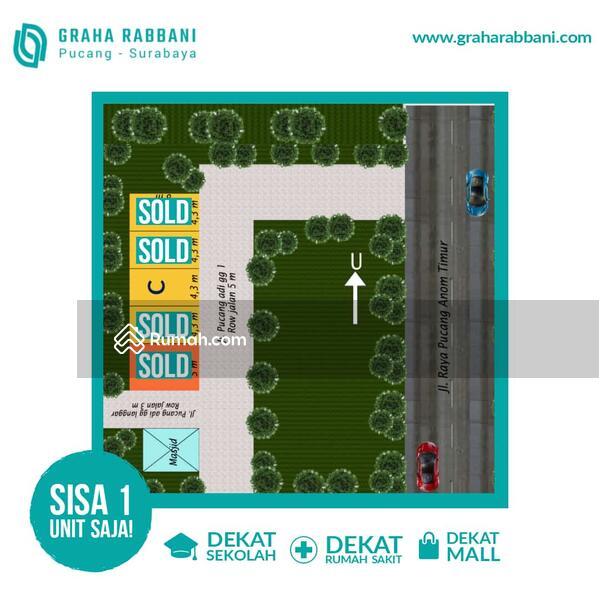 Rumah 800 Jutaan Gubeng Surabaya Dekat UNAIR, Pasar Pucang , Transmart Ngagel SHM IMB #107567788