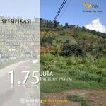 Miliki Tanah Jatihandap dkt Saung Angklung Ujo Hny 2Jutaan