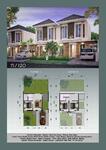 DE Eaganice Gunungsari indah Surabaya, Rumah mewah, Free Canopi free pajak