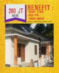 Rumah Murah Siap Huni Bisa KPR di Kota Bangunjiwo Yogyakarta