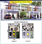 Dijual Cepat Rumah cluster Tampa, JUAL MODAL, HOEK