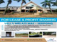 Disewa - VILLA MELATI MAS SERPONG FOR LEASE & PROFIT SHARING