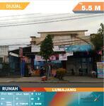 Rumah, Toko, Gudang terletak di pinggir jalan jalur Provinsi