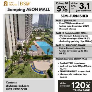 Dijual - Apartment Sky House BSD