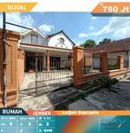 Jual Tanah Bonus Bangunan! Rumah dan Kantor Luas daerah Kebonsari