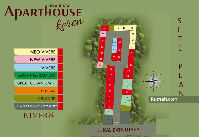 Aparthouse River 8 #97529744