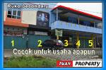 Dijual ruko harga 525 jt perpintu lokasi dekat kampus uin. pekanbaru