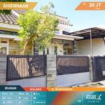 Rumah Jalan Wijayandanu daerah Polehan Aman dan Nyaman