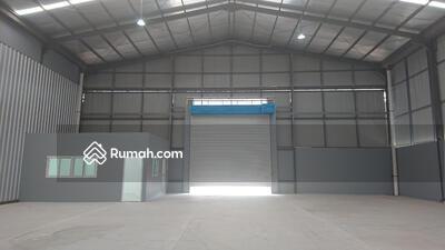 Disewa - For Lease! Gudang Modern Baru Izin Industri Rp. 375 JT/Tahun dekat bandara!
