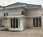 Dijual rumah modern minimalis, di Kalisari Cijantung, one gate system, parkir luas, bebas banjir