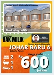 Rumah Murah di Johar Baru Jakarta Pusat , Lokasi Strategis & Nyaman