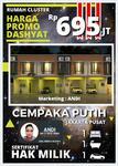 Rumah Murah di Cempaka Putih Jakarta Pusat , Lokasi Strategis