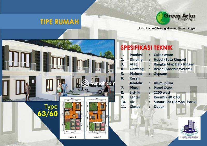Green Arka Serpong, Rumah Tingkat Mewah Harga 1 Lantai MD762 #97781682