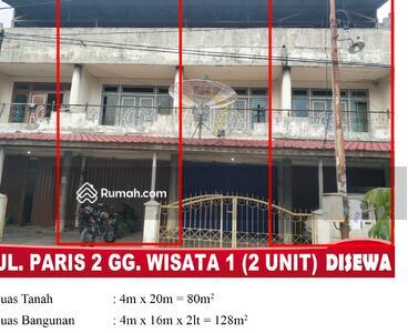 Disewa - Ruko Jl. Paris 2 Gg Wisata 1
