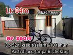 Rumah baru kredit kpr pasti acc untuk semua kalangan asal ada dp dan mampu membayar