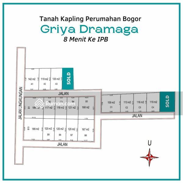 Tanah Murah Area IPB Dramaga Bogor, Dalam Perumahan #109231430