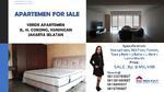 DIJUAL Apartemen 3 Kamar Ber-Gaya RESORT, FURNISH & PET Friendly @VERDE, Kuningan Jakarta Selatan