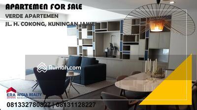 Dijual - DIJUAL Apartemen 3 KAMAR Type SKY GARDEN & FURNISH @ VERDE ONE Kuningan, Setiabudi, Jakarta Selatan