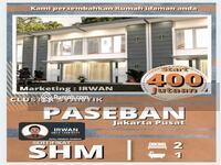 Dijual - Rumah Murah Paseban, Rumah Mimimalis 2 Lantai Di Salemba, Rumah Harga Apartemen Di Jakarta Pusat