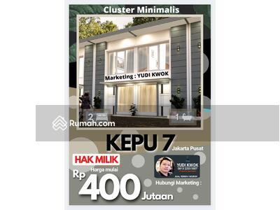 Dijual - Rumah cluster minimlalis di kepu dalam kemayoran jakarta pusat