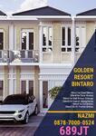 PROMO SOFT LAUNCHING Dapatkan CashBack 30jtan Golden Resort Bintaro