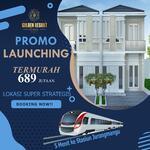 Promo Mingguan Golden Resort Bintaro Harga TERMURAH Khusus Soft Launching