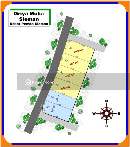Tanah Kavling Sleman Kota, 3 Menit Komplek Pemda #99160828