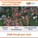 Tanah Kavling Sleman Kota, 3 Menit Komplek Pemda