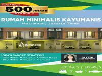 Dijual - Melia town House Kayu Manis Lokasi Sangat Strategis