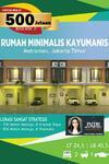 Melia town House Kayu Manis Lokasi Sangat Strategis