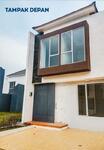 """Di Jual """"Brand New"""" Rumah Murah Di cluster Dengan keamanan 24 jam Di Graha Raya Bintaro"""