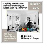 Tanah Kapling di Tanah Sereal Bogor