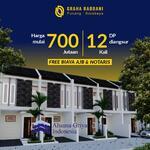 Rumah Murah 2 Lantai Surabaya Pucang Pusat Kota harga mulai 700 juta Graha Rabbani Pucang Surabaya