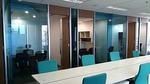 Ruang Kantor Full Furnish Luas 140 m2 di TB Simatupang