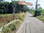 Tanah Murah Dekat Pintu Tol Cileunyi Pinggir Jalan Aspal