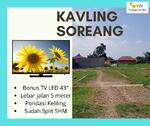 Hny 3, 5JT Saja - Selangkah dari Tol Soreang Kavling Hunian Untung 40%!
