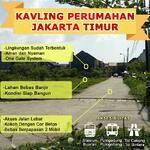 Tanah Kavling Jakarta Timur Jatinegara Indah