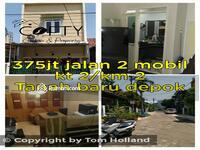 Dijual - Rumah second minimalis dijual 2 lantai ditanah baru , Depok