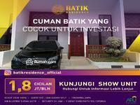 Dijual - Batik Residence Cirebon sebelah pintu tol hanya 1. 8juta/bulan. Mewah