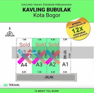 Dijual - Tanah Bogor