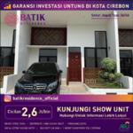 Di jual rumah dengan konsep asri dan strategis Batik Residence Cirebon