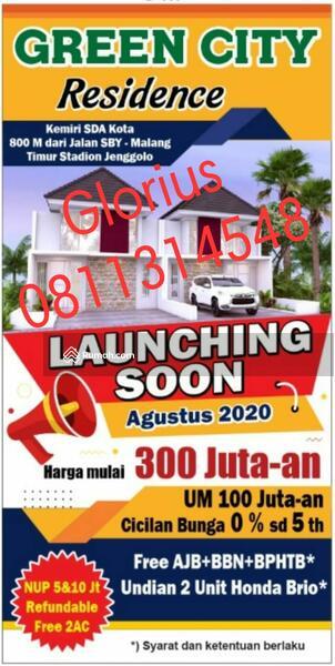 Rumah Murah GOR Sidoarjo Jenggolo-Transmart Green City #98659588