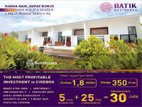 Dijual - Hunian Mewah rasa Villa 60rb/hari di Batik Residence