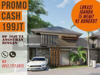 Dijual - Rumah murah 200 jutaan dekat surabaya timur  rungkut